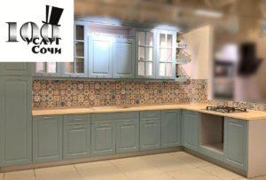 кухни в Сочи www.stouslug.ru фирма 100 услуг Сочи